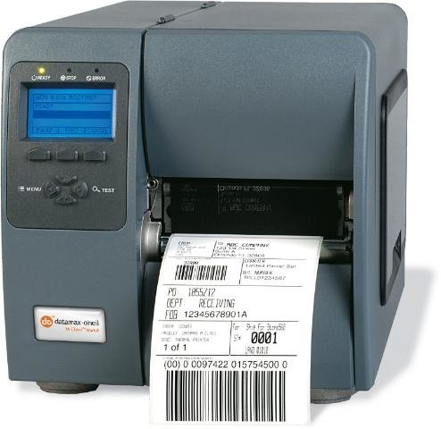 Datamax-M-Class-M-4206-II-Direct-Thermal-Printer-203dpi-6-IPS-Print-Speed-108mm-Print-Width-8MB-DRAM-8MB-Flash-ParallelSerial-0